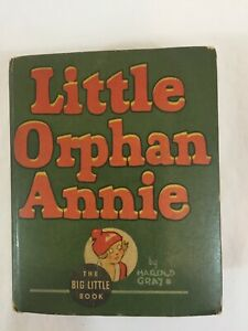 BIG LITTLE BOOK LITTLE ORPHAN ANNIE AND PUNJAB THE WIZARD 1935 #1162 FIRST ED VG