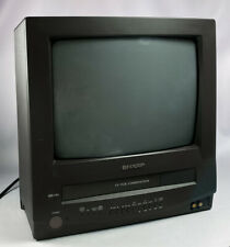 New ListingVintage Sharp 13Vt-N100 Crt Retro Gaming Color Tv Vcr Vhs Player Combo w Remote