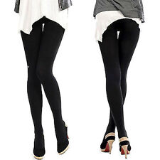 New Simple Fashion Stylish Sexy Women's Thick Featured Velour Silm Leggings