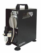 Sparmax Professional Mini Piston Airbrush Compressor Tc-610h
