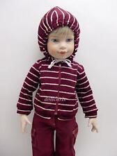 "Cargo Pants Striped Hoodie Just Pretend for Magic Attic Carpatina 18"" Slim dolls"