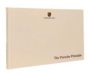 Porsche The Porsche Principle Booklet Brochure 2015 Exclusive Automotive History