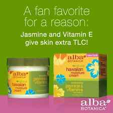 Alba Botanica Jasmine & Vitamin E Soothing Moisture Cream 85g - ORIGINAL!