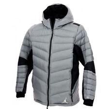 NWT Nike Air Jordan Hyperply Jacket 700 Down/Goose Cool Grey/Black size XXL