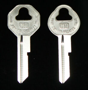 Chevrolet Biscayne B10 B11 KEY BLANKS FOR ALL GM 1936-1966 VEHICLES