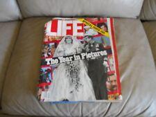Life Magazine Special Issue 1981 Royal Wedding Princess Diana January 1982 Old