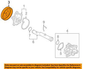 MINI OEM 07-15 Cooper 1.6L-L4 Water Pump-Pump Pulley 11517619020
