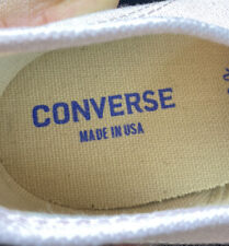 Vintage CONVERSE JACK PURCELL Canvas Sneakers Made in USA Sz 11 Pink Og Rare