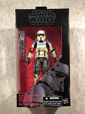Star Wars The Black Series 28 Scarif Stormtrooper Squad Leader 6? Action Figure