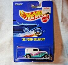 Vintage Hot Wheels 9599 (135)  '32 Ford Delivery on Original Card