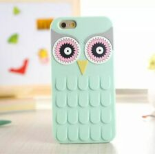 Soft Silicone Owl Harry Potter 3D Animal Case Cover For iPhone Samsung Galaxy