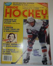 Inside Hockey Magazine Mike Bossy & Bryan Trottier 1979 121014R2