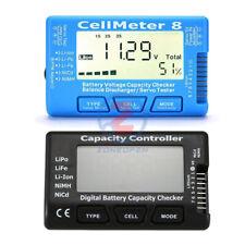 Digital Battery Capacity Checker For NiMH Nicd LiFe LiPo Li-ion Battery Meter