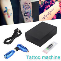 Aluminum L Shape Motor Hybrid Tattoo Pen Rotary Tattoo Machine with Needle