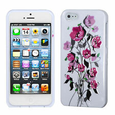 For Apple iPhone 5 5S SE HARD Protector Case Snap On Phone Cover Sprin