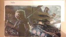 Final Fantasy VII Playmat Winter Cup Wales Signed by the maker of the FF TCG!