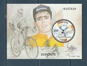 BLOC ESPAGNE  sport cyclisme Miguel Indurain    num: 89 de 2000  **