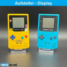 GameBoy Color Aufsteller Ständer Halter Präsentation Vitrine Game Boy Colour GBC
