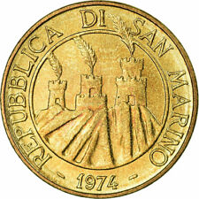 SAN MARINO 10-20 LIRE 1974-2000 4 pc Coin Set UNC