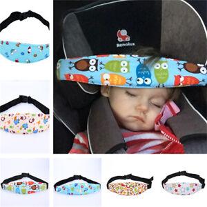Safety Kids Stroller Car Seat Sleep Nap Aid Head Fasten Support Holder Belt