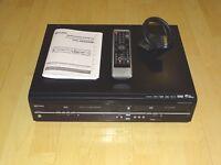 Funai T5A-A8482DB DVD- / VHS- / HDD-Recorder, 250GB, inkl. FB&BDA, 2J. Garantie