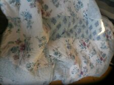 SIMPLY SHABBY CHIC FULL QUEEN PATCHWORK QUILT & 1 SHAM  NWOT