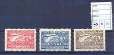 Greece 1933 Zeppelin Issue MNH VF.