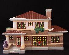 PRAIRIE HOUSE #51560 Dept 56 Original Snow Village Retired AMERICAN ARCHITECHURE
