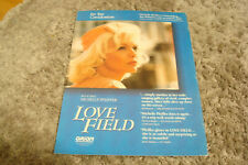 LOVE FIELD 1992 Oscar ad Michelle Pfeiffer as Lurene for Best Actress, Orion Pic