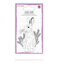 HARE Clear Stamp - A7 Size - Dovecraft - HARE - RABBIT