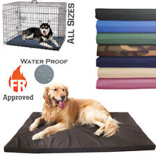 More details for waterproof dog cage mat fr approved heavy duty mattress outdoor crate bed pad
