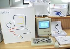 1984 Apple MACINTOSH 128K Complete Picasso BOX Set! 1st Mac, Model M0001 RARE!
