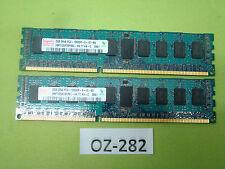 Hynix 4GB 2x2GB DDR3-1333 PC3-10600R ECC Reg HMT125R7BFR8C-H9 T7 AA-C #OZ-282
