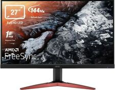 Acer KG271Cbmidpx 144Hz 27 Inch FHD Gaming Monitor, TN Panel, FreeSync, 1ms