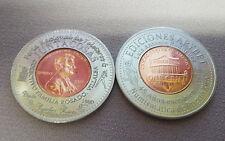 2015 FERIA JUNTACOSAS VILLALBA & Libros ARYBET Ponce Encased Penny PUERTO RICO