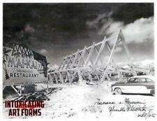 MAI-KAI POLYNESIAN RESTAURANT FLORIDA TIKI PHOTOGRAPH 1955 - SIGNED