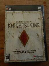 Elder Scrolls IV: Knights of the Nine (PC, 2006)
