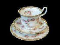 Beautiful Royal Albert Dimity Rose Trio