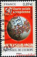 SERVICES CONSEIL DE L'EUROPE n° 150 de 2011  OBLITÉRÉ 1er jour