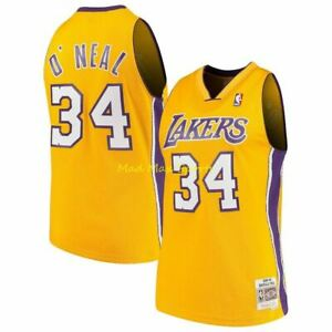SHAQUILLE O'NEAL Los Angeles LAKERS 2000 Mitchell & Ness SWINGMAN Jersey Size S