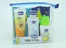 CHICCO Night & Day Kit crema solare + bagno schiuma + roll on anti zanzara