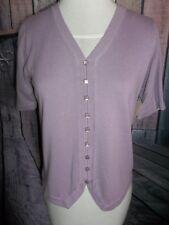 """CHRISTOPHER & BANKS"" DESIGNER, Summer Sweater, Small, Lavender, Short Sleeve"