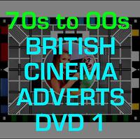 Classic British UK TV Cinema Adverts DVD RETRO MEMORIES VINTAGE 70s to 90s