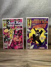 Marvel Team-Up #137 & 141   1st App Spider-Man Black Costume Newsstand 1984