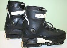 Razors Cult  Aggressive Inline Skates  Black Size Uk 9 US 10 EU 43