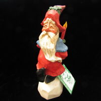 "David Frykman Collection Oh The Joy Santa With Candle 10"" Figurine 1994 DF1006"