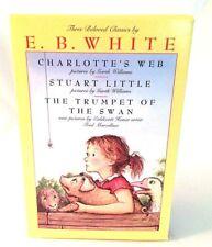 E.B. White: Charlotte's Web, Stuart Little, and The Trumpet of the Swan Box SET