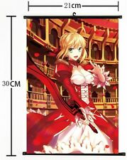 Hot Japan Anime fate stay night/fate zero Wall Poster Scroll Home Decor 300