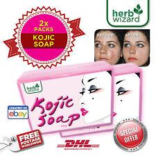 3x 70g Kojic Acid Skin Whitening Lightening Bleaching Kojic Acid  Soaps