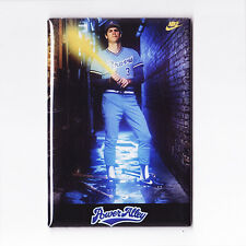 """DALE MURPHY / POWER ALLEY 2"""" x 3"""" POSTER MAGNET (costacos atlanta braves jersey)"""